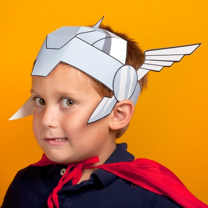 Maschera di Thor fai da te