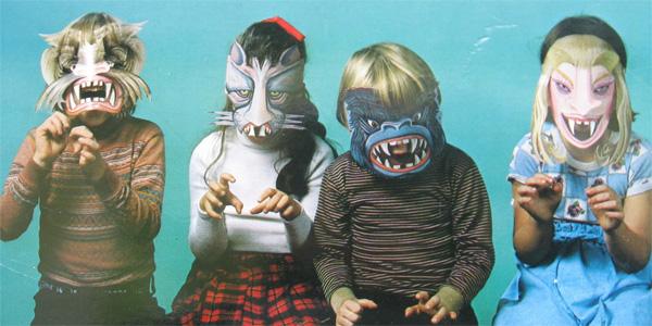 Maschere dell'horror per bambini