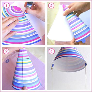 Come creare i cappelli di carta
