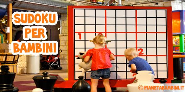 Sudoku per bambini difficili