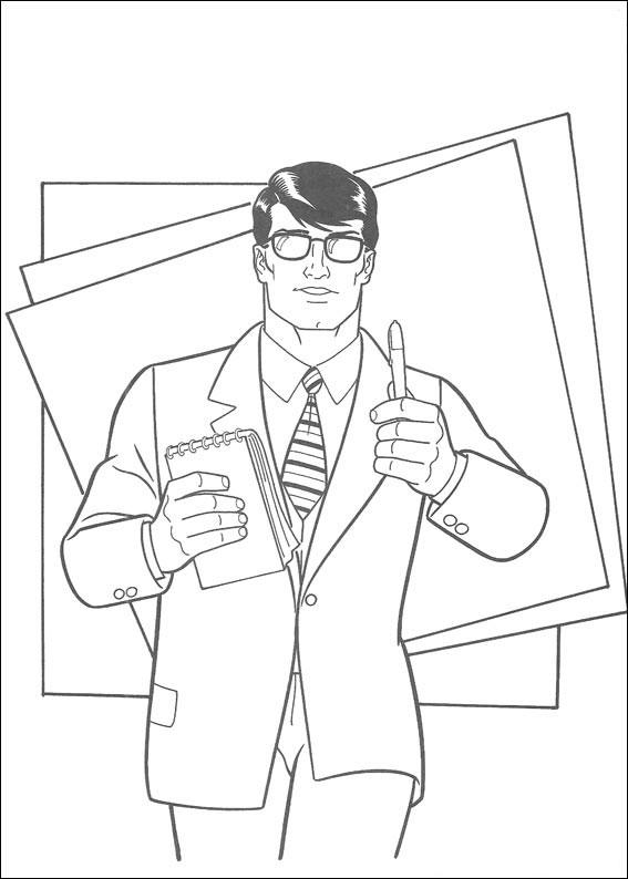 42 Disegni Di Superman Da Colorare Pianetabambini It