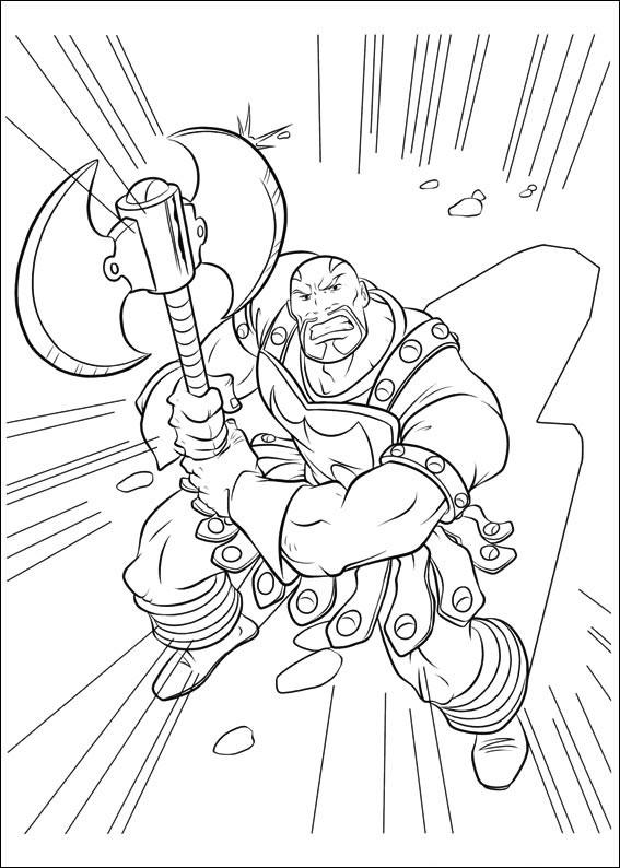 Ausmalbilder Marvel Helden Angel: 33 Disegni Di Thor Da Colorare