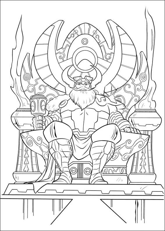 33 Disegni Di Thor Da Colorare Pianetabambini It