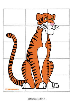 Puzzle della tigre