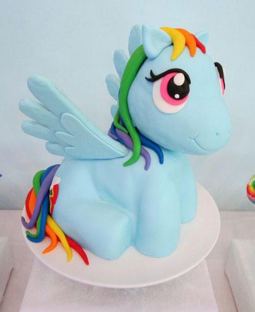 Foto della torta di My Little Pony n.01