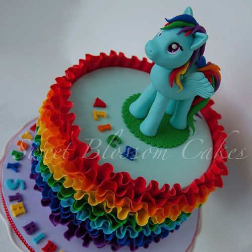 Foto della torta di My Little Pony n.02