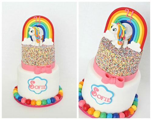 Foto della torta di My Little Pony n.06