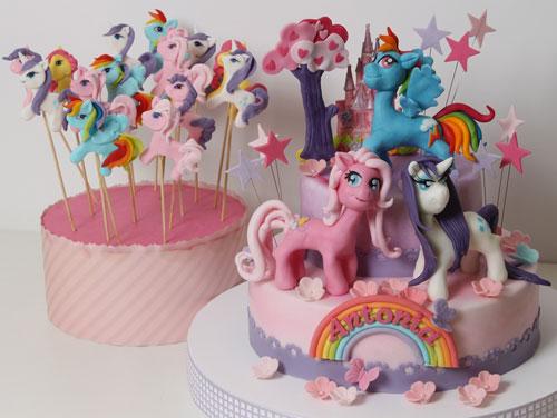 Foto della torta di My Little Pony n.07