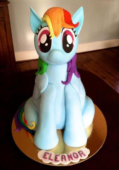 Foto della torta di My Little Pony n.11