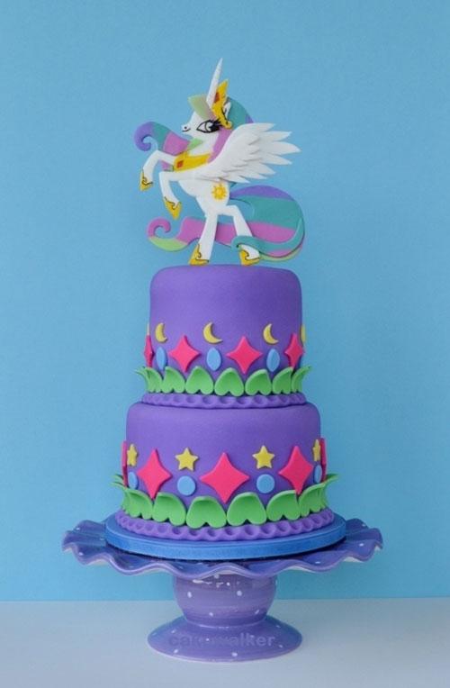 Foto della torta di My Little Pony n.12
