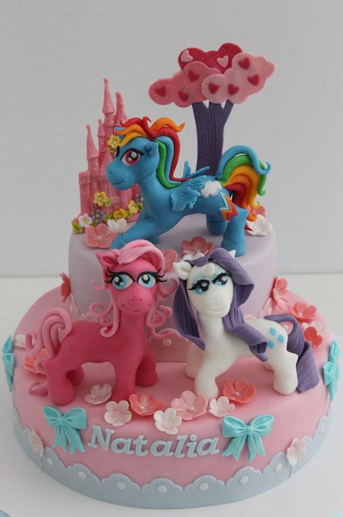 Foto della torta di My Little Pony n.13