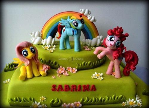 Foto della torta di My Little Pony n.14