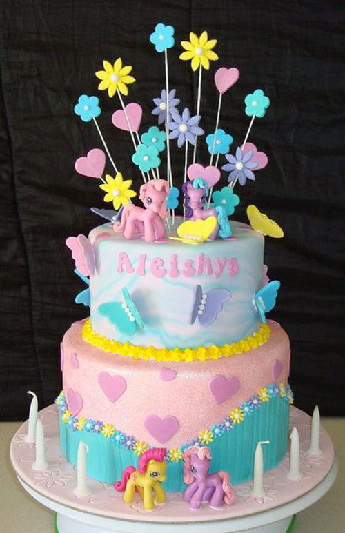 Foto della torta di My Little Pony n.15