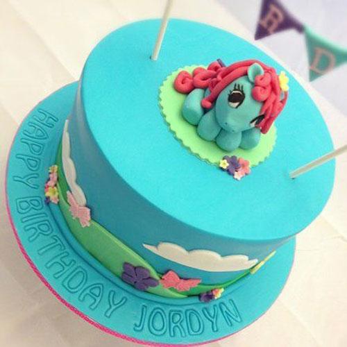 Foto della torta di My Little Pony n.17