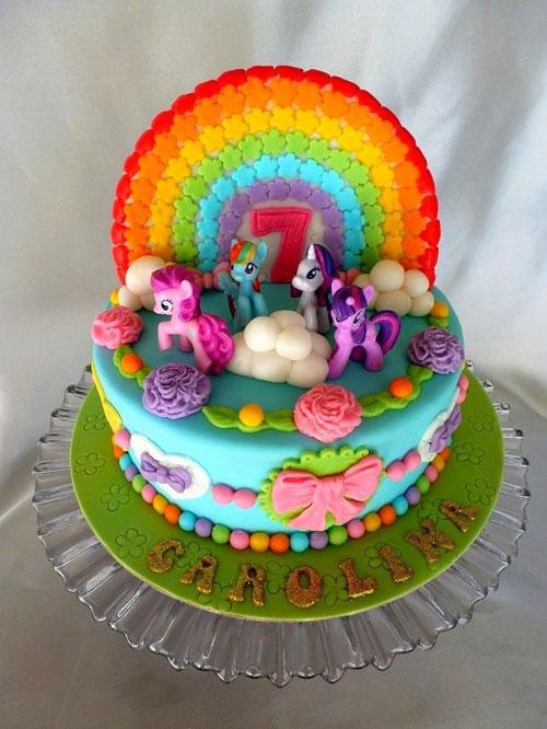 Foto della torta di My Little Pony n.18