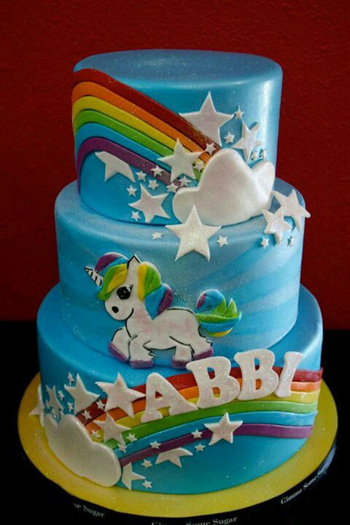 Foto della torta di My Little Pony n.19