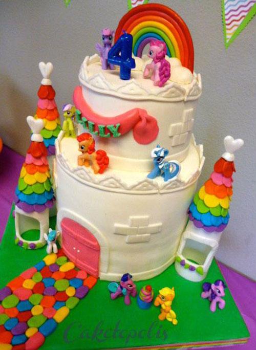 Foto della torta di My Little Pony n.20
