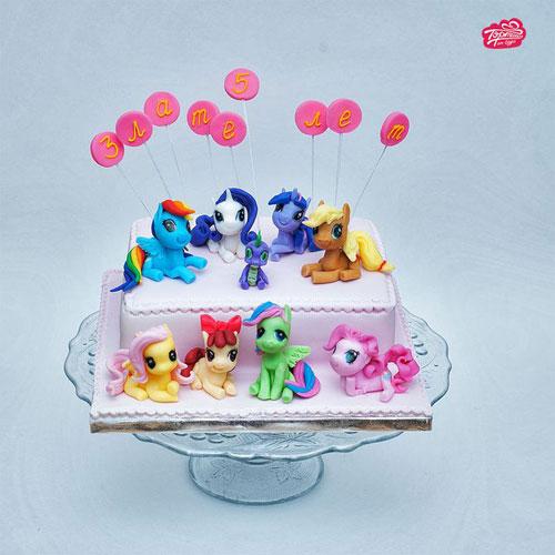 Foto della torta di My Little Pony n.22