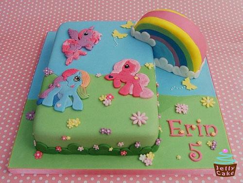 Foto della torta di My Little Pony n.23