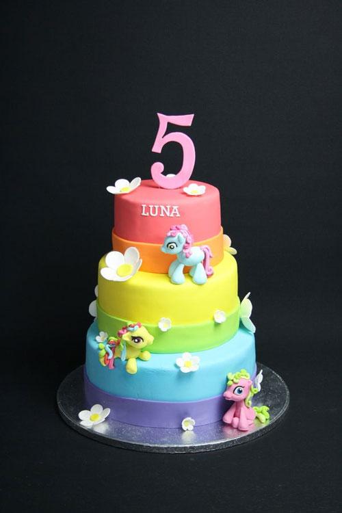 Foto della torta di My Little Pony n.25