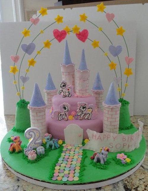 Foto della torta di My Little Pony n.26