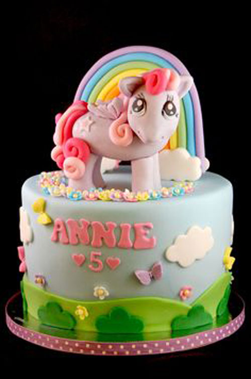 Foto della torta di My Little Pony n.28