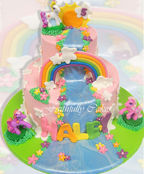 Foto della torta di My Little Pony n.29