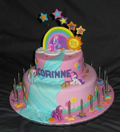 Foto della torta di My Little Pony n.33