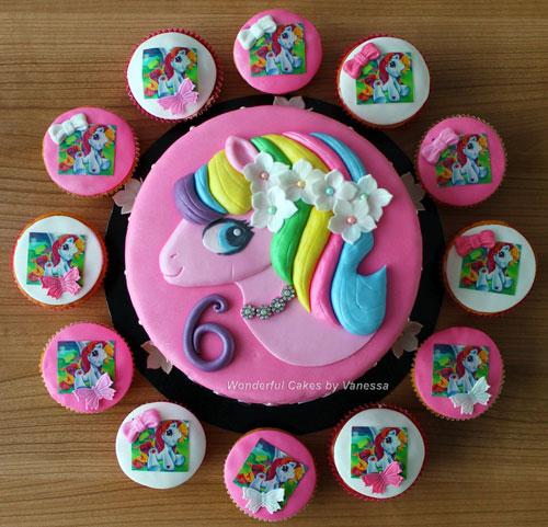 Foto della torta di My Little Pony n.34
