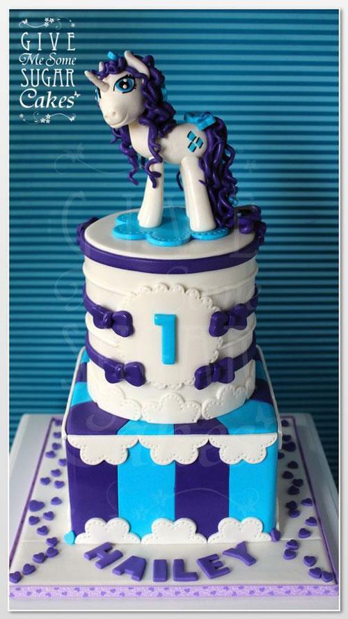 Foto della torta di My Little Pony n.35