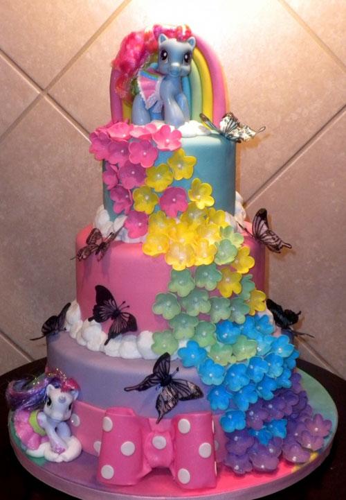Foto della torta di My Little Pony n.37