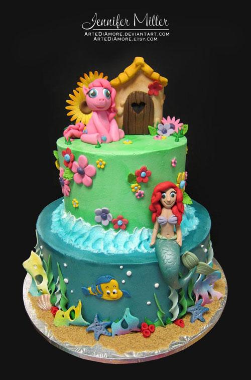 Foto della torta di My Little Pony n.39