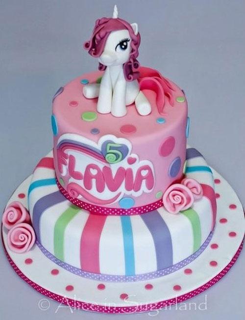 Foto della torta di My Little Pony n.40