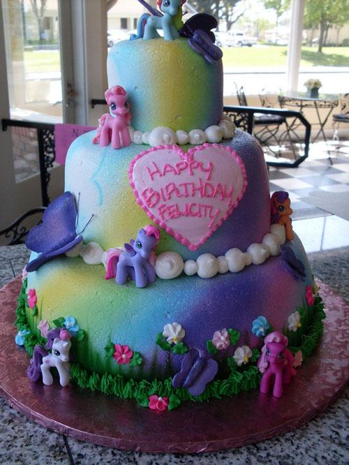 Foto della torta di My Little Pony n.41