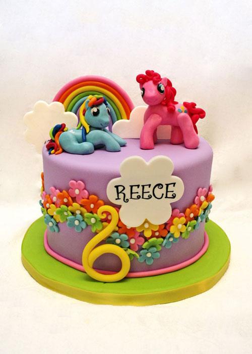 Foto della torta di My Little Pony n.42