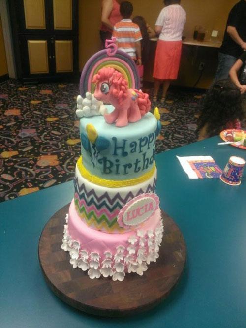 Foto della torta di My Little Pony n.43