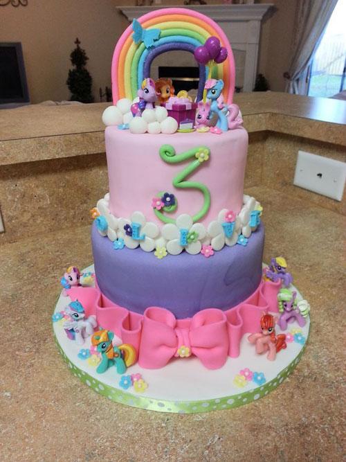 Foto della torta di My Little Pony n.44