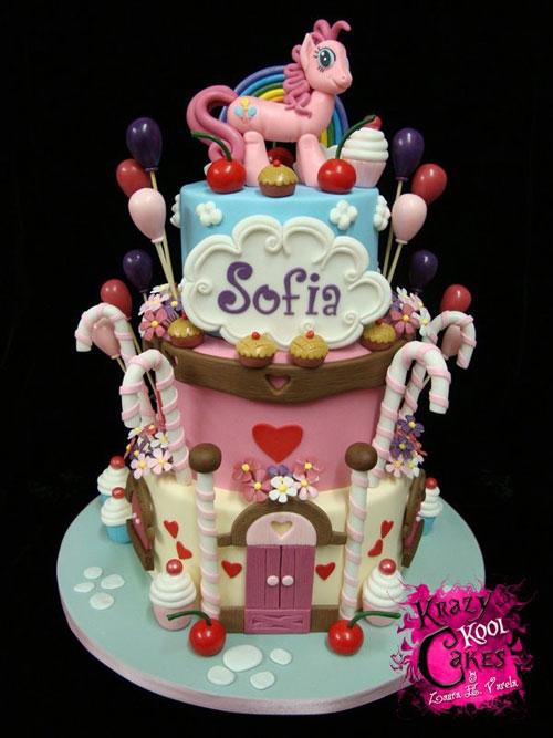 Foto della torta di My Little Pony n.47