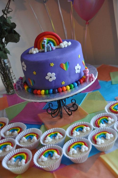 Foto della torta di My Little Pony n.48