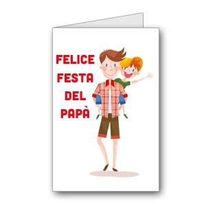 Immagine del biglietto di auguri per la festa del papà n. 4