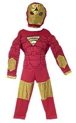 Immagine del costume di Iron Man per bambini