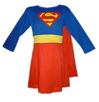 Immagine del costume di Supergirl per bambine