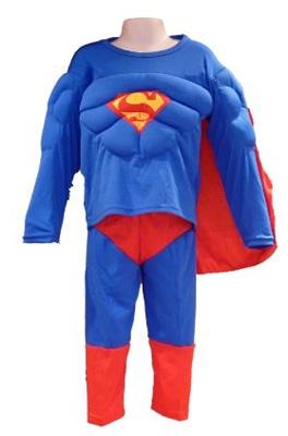 Immagine del costume di Superman per bambini