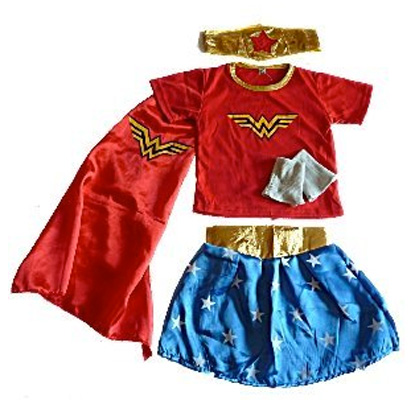 Immagine del costume di Wonder Woman per bambine
