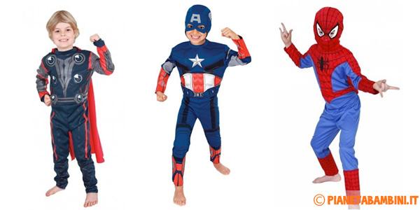 Costumi dei supereroi per bambini