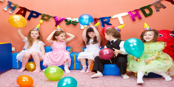 Giochi per feste di compleanno dei bambini