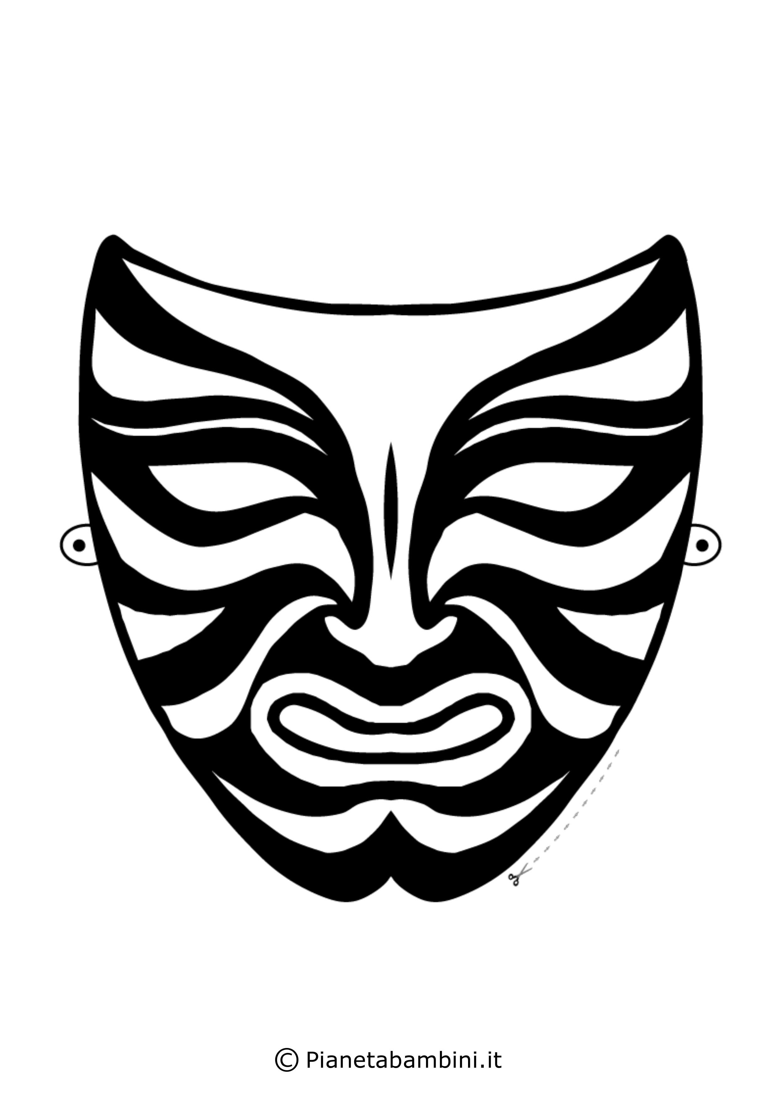Maschera-Colorare-Cinese-1