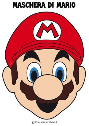 Immagine della maschera di Mario