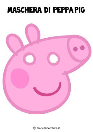 Immagine della maschera di Peppa Pig