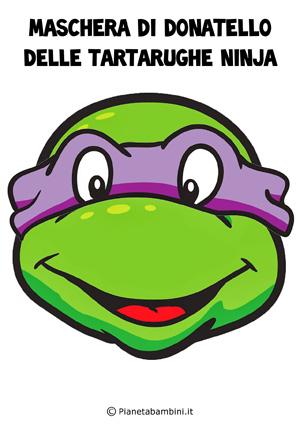 Immagine della maschera di Donatello delle Tartarughe Ninja